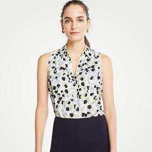 Ann Taylor Poppy Sleeveless Essential Shirt